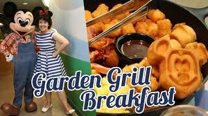 breakfast at epcot s garden grill bookishprincess you