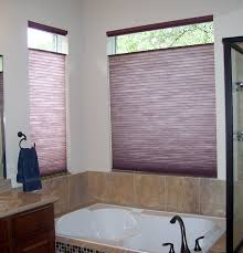blinds for bathroom window. After Photo Of Bathroom With Honeycomb Shades- Great For Privacy, Light Control And Energy. Window BlindsBathroom Blinds I