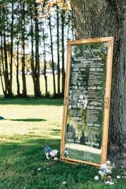 Mirror Table Seating Chart 13 Unique Wedding Seating Chart Ideas