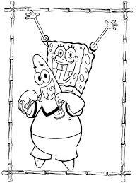 Spongebob Coloring Pages Coloringrocks
