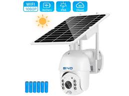 SNO <b>Wifi</b> Camera 1080P <b>8W Solar</b> Panel PTZ Camera Outdoor 2MP ...