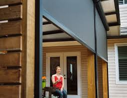 outdoor patio screens. Block The Sun And Bugs With Phantom Motorized Screens For Porches Patios Outdoor Patio A
