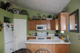 image of ideas kitchen colors with dark cabinets