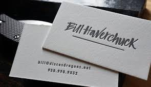 Letter Press Business Card Letterpress Business Cards Hoban Cards