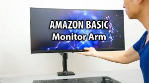 the best monitor arm for my ultrawide monitor basic monitor arm mount