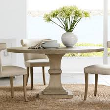 pedestal round dining table
