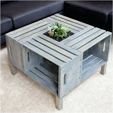 how to make a coffee table out of crates coffee table out of crates wooden