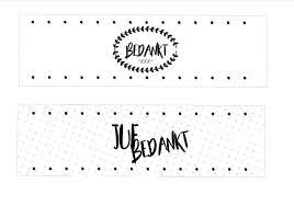 Bijroos Printable Blik Kado Leuke Cadeaus Handige Tips En
