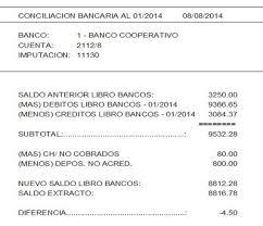 Conciliacin Bancaria