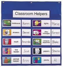 Classroom Helpers Pocket Chart Pocket Chart Job 28 X 28