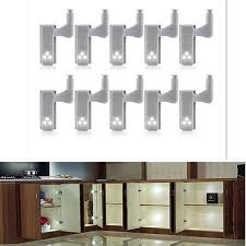 <b>10Pcs LED Smart Touch</b> Induction Cabinet Light Cupboard Inner ...
