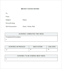 status update template word weekly update templates accomplishment report template word