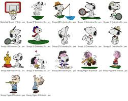 Snoopy Embroidery Designs Free 17 Snoopy Embroidery Designs Collection 01