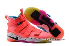 2017 Nike Lebron Soldier 11 Markelle Fultz Pe Pink Teal Top Deals