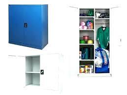 metal storage cabinet with lock. Locking Storage Cabinet Metal Used . With Lock