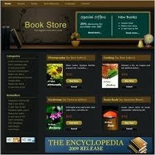 Free Downloads Web Templates Zero Downloads Website Template Free Bookstore Books