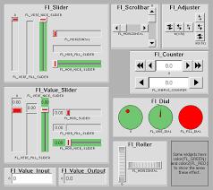 Fltk 1 3 5 Common Widgets And Attributes