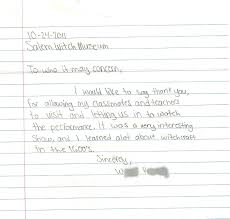 Student Thank You Letter Behind The Scenes Pinterest Letter