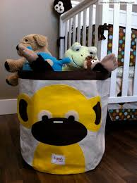 yellow monkey storage bin by  sprouts review closed giveaway