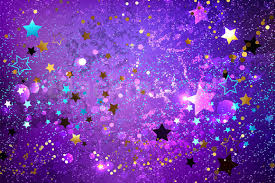 Purple Background Design Purple Background With Stars