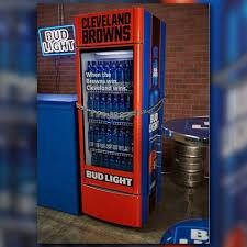 Bud Light Put Beer Fridges All Over Cleveland For The Browns