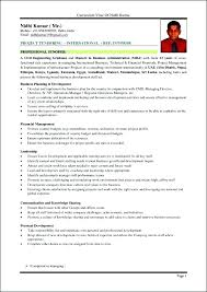 Mba Resume Sample Best Marketing Resume Sample Also Resume Format