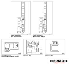 toyota sienna i xl10 fuse box diagrams & schemes imgvehicle com 2002 Suzuki Grand Vitara Fuse Box Diagram toyota sienna i xl10 fuse box fuse list