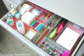 office drawer organizers. Office Drawers Organizers Desk Drawer Quick Tricks For Organizing To Maximize Space Plastic . I