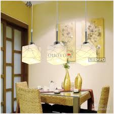 3 e27 lights 50cm long dining room pendant light modern delineated three glass boxes kitchen room pendant lamp moder fixture lamp pendant glass pendant lamp
