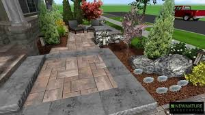 Patio Design New Nature Landscaping Front Patio Design Youtube