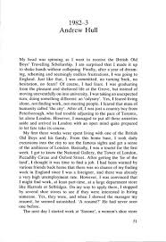 a year abroad travelling scholarship essay andrew hull a year abroad pag 1