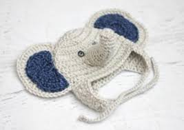 Baby Hat Crochet Pattern Best Baby Elephant Crochet Hat AllFreeCrochet