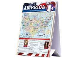 Barcharts 9781423225737 American History Quickstudy Easel