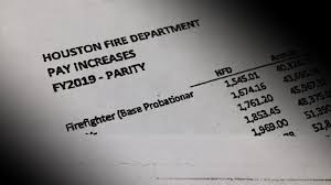 Houston Fire Department Salary Chart Prop B Proposal Shows Millions In Firefighter Incentives Slashed
