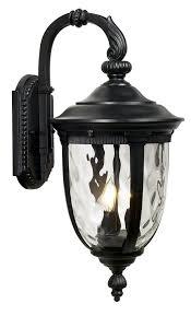 bellagio 20 1 2 high black outdoor wall light wall porch lights com