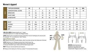 Ariat Jeans Size Chart
