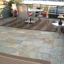 outdoor slate floor tiles contemporary patio