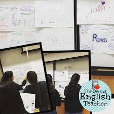 the daring english teacher collaborative essay brainstorming  collaborative essay brainstorming activities for secondary ela teachers