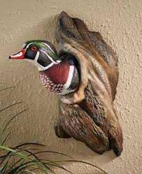 Each of these exquisite pieces are made in the usa from eastern pine and are carved & painted by skilled artisans. Waterfowl Sculpture Wild Wings Llc