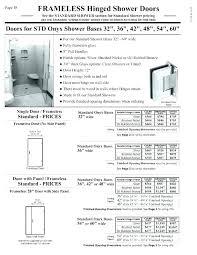 standard shower door height standard shower door height luxury of handle the best sliding size sizes
