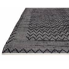 allure black  cream cotton area rugs  rug shop and more