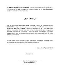 Formato De Cartas De Peticion Resultado De Imagen Para Certificado De Trabajo Maestro
