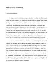 personal literacy narrative essay english caffrey  2 pages outline narrative essay
