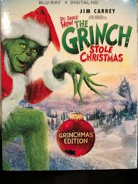 dels about dr seuss how the grinch stole with slipcover blu ray digital hd new