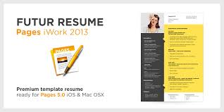 Multiple Page Resume Iwork Template Pages Templates Cv 2 Format