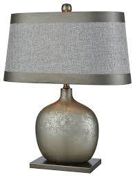 dimond iago table lamp pewter finish and gray tierra