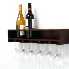 full size of wall mounted hanging wine glass rack shelf canada design grace claret bottle and