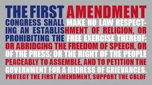 the first amendment history development schoolworkhelper amendments contain no expression