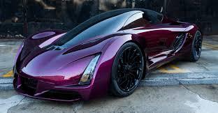 3d metal car