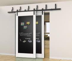 2018 5 5ft 6ft bypass sliding barn wood closet door interior sliding door bent straight wheel hardware track kit from diyhd 159 8 dhgate com